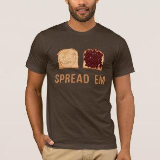 Peanut Butter & Jelly: Spread 'Em T-Shirt