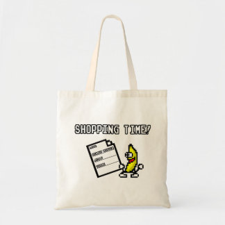 Peanut Butter Jelly Thyme Shopping Time Tote Bag