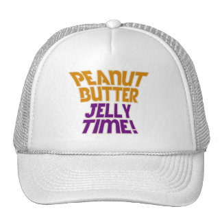 Peanut butter jelly time mesh hats