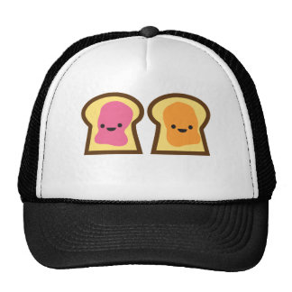 Peanut Butter Jelly Time! Mesh Hat