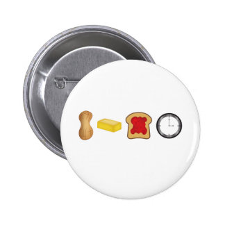 Peanut Butter Jelly Time Horizontal Buttons