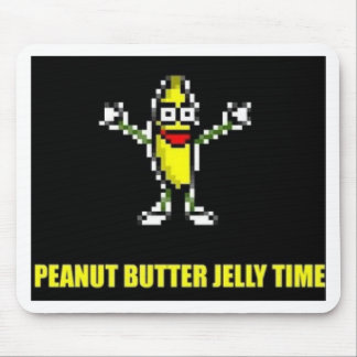 Peanut Butter Jelly Time Mouse Pads