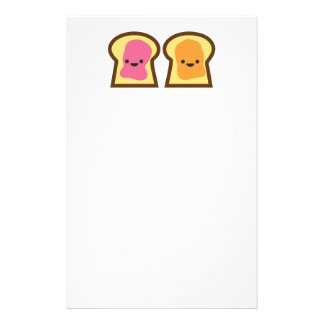 Peanut Butter Jelly Time! Customised Stationery