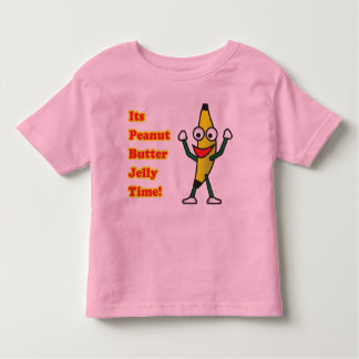 Peanut Butter Jelly Time Toddler T-Shirt