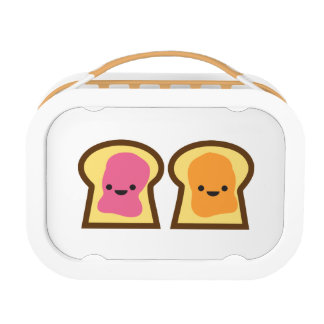 Peanut Butter & Jelly Toast Friends Lunch Box