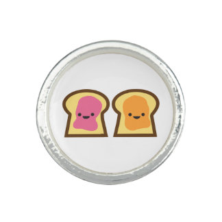 Peanut Butter & Jelly Toast Friends Ring