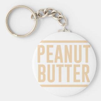 Peanut Butter Key Ring