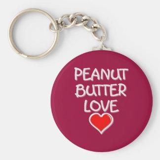 Peanut Butter Love Keychains