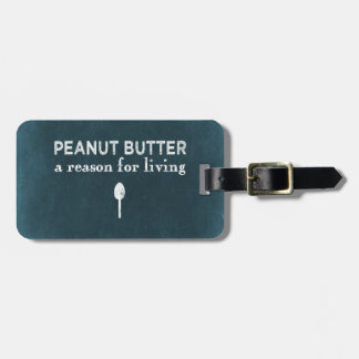 Peanut Butter Luggage Tag