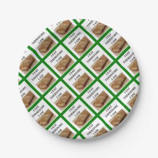 peanut butter paper plate