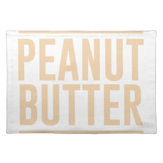 Peanut Butter Placemat