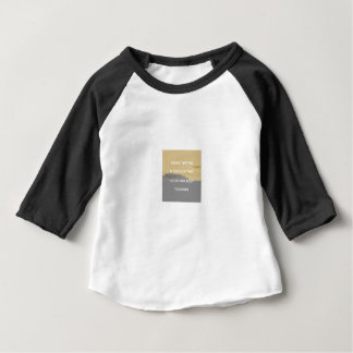Peanut Butter Rules Baby T-Shirt