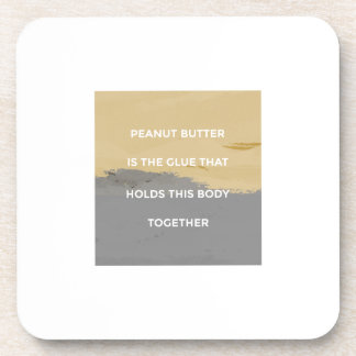 Peanut Butter Rules Coaster