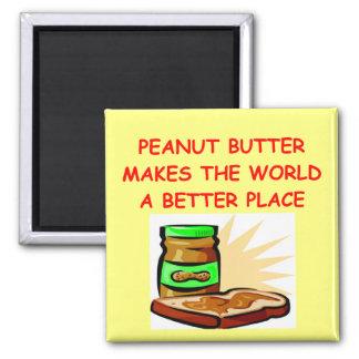 peanut butter square magnet