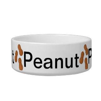 Peanut cat dish cat food bowls