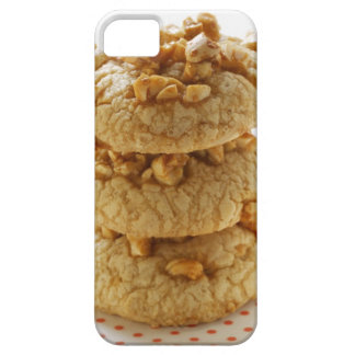 Peanut cookies in a pile iPhone 5 cases