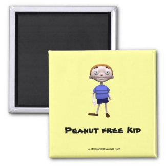 Peanut free Kid Magnet