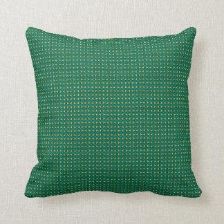 Peanut Green Throw or Lumbar Pillows