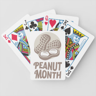 Peanut month - Appreciation Day Bicycle Playing Cards