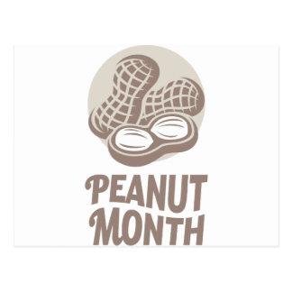 Peanut month - Appreciation Day Postcard