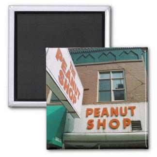 Peanut Shop Square Magnet