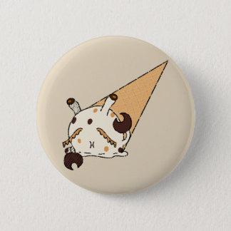 Peanutbutter Ice-cream Crab 6 Cm Round Badge
