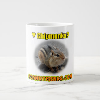 peanutfiends.com Chipmunk Mug