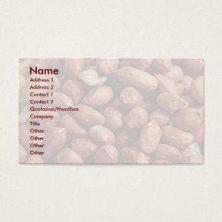 Peanuts Business Card