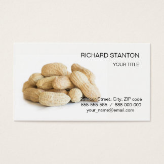 Peanuts Business Card