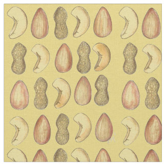 Peanuts, Cashews, Almonds Mixed Nut Nuts Fabric