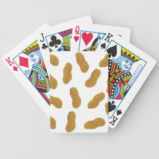 Peanuts pattern bicycle playing cards