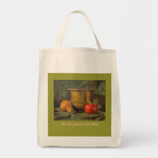 Pear and tomato tote
