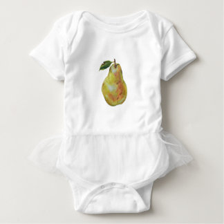 Pear Baby Tutu Bodysuit