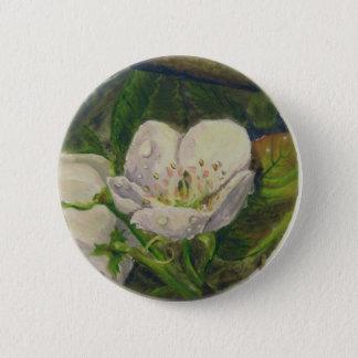 Pear Blossom Dream 6 Cm Round Badge