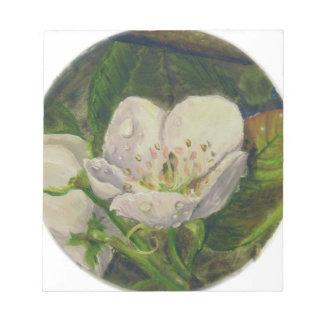 Pear Blossom Dream Notepad