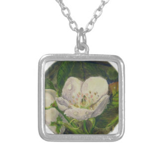 Pear Blossom Dream Silver Plated Necklace