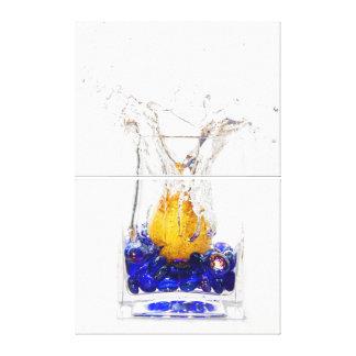 Pear Drop Canvas Print