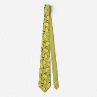 Pear Fruit Fun Men's Tie