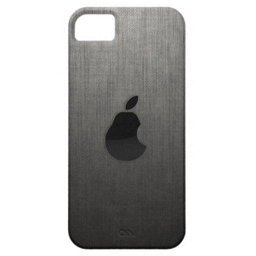 Pear Logo Custom iPhone 5 iPhone 5 Cases