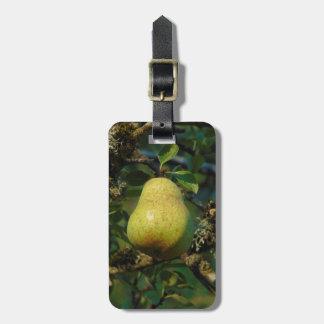 Pear Luggage Tag