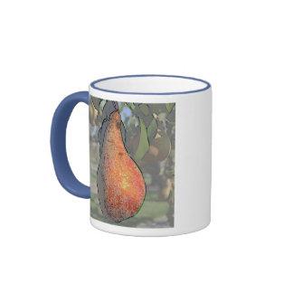 Pear Tree Art Mug