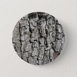 Pear tree bark texture background 6 cm round badge