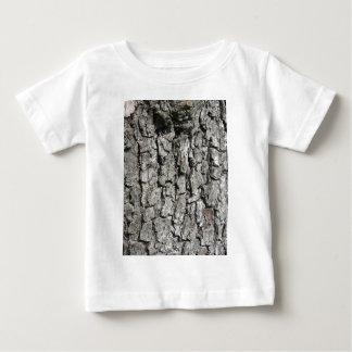 Pear tree bark texture background baby T-Shirt