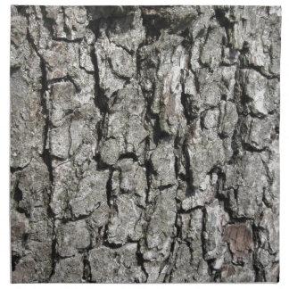 Pear tree bark texture background napkin