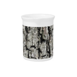 Pear tree bark texture background pitcher