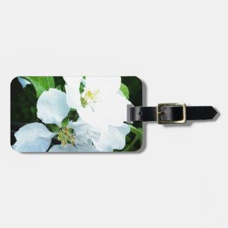 Pear tree flower bag tag