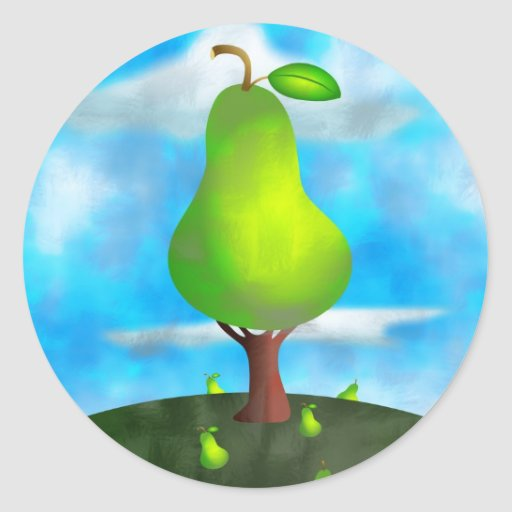 Pear Tree Sticker