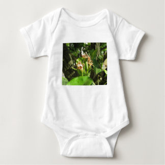Pear tree twig with buds in spring  Tuscany, Italy Baby Bodysuit
