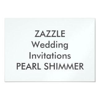 "PEARL 5"" x 3.5"" Wedding Invitations"