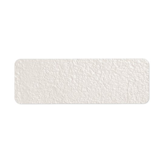 PEARL creamy white textured backgrounds templates Return Address Label